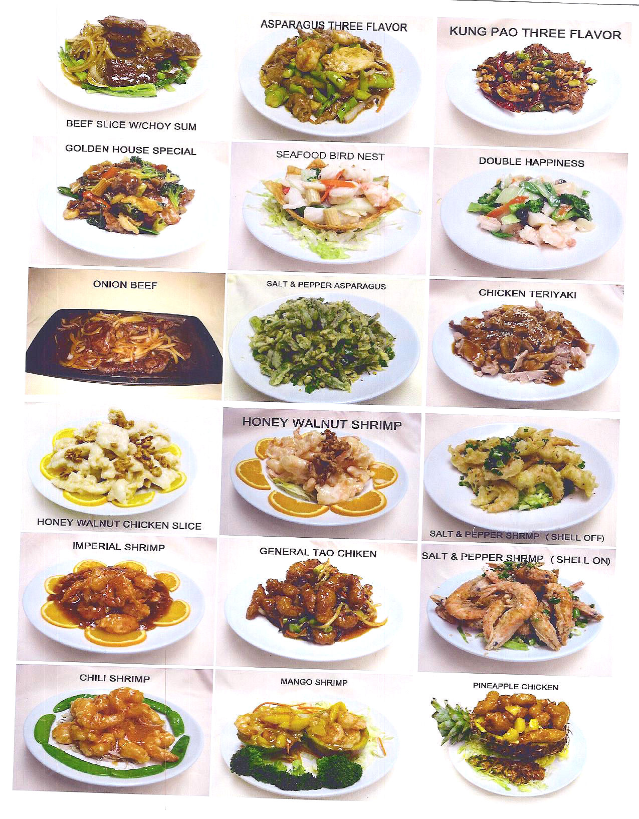 Cantonese chinese food images for Asia cuisine menu